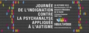 M'Hammed Sajidi, président de Vaincre l'autisme. Journée d'indignation, le 30 octobre 2013