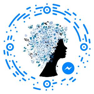 Le code Messenger pour me contacter via FaceBook