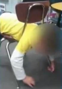 Prof virée pour avoir filmé un élève autiste en fâcheuse posture (LeMatin, février 2014)