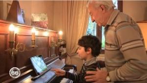 [VIDÉO] Hélios, l'enfant et le piano (66 Minutes, mars 2014)