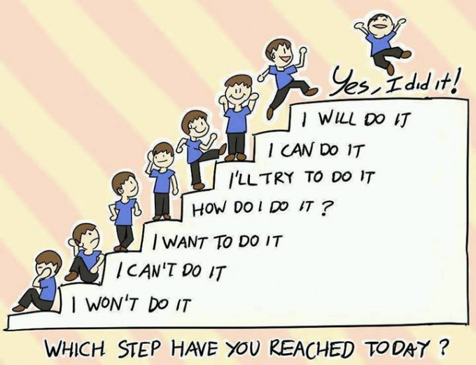 Which step have u reached today ?