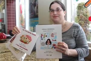 Artiste, orthopédagogue et… autiste: la vie « presque normale » de Valérie Desroches (NordInfo, avril 2015)