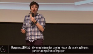 [VIDÉO] Morgane Aubineau prépare une thèse sur le syndrome d'Asperger à l'âge du collège