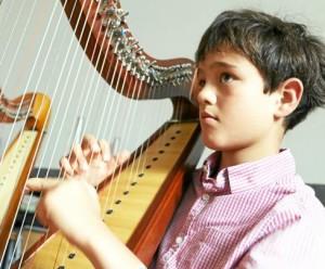 Carl-Philip, petit prince de la harpe celtique (Le Télégramme, juillet 2015)