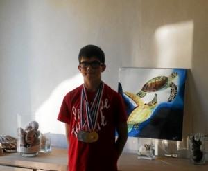 Natation. Quentin, champion hors normes (Le Télégramme, novembre 2015)
