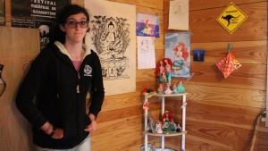 """Tania, 15 ans : Réunionnaise, artiste et """"différente"""" (Outre-mer 1ère, décembre 2015)"""