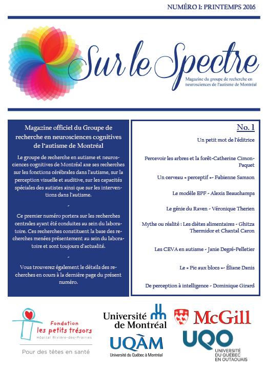 """N° 1 de """"Sur le spectre"""", printemps 2016 (cliquez pour ouvrir au format PDF)"""