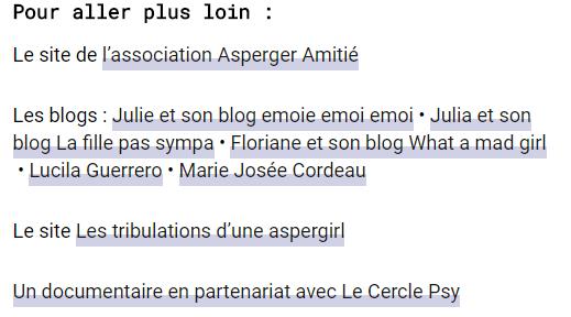 Journal d'Aspergirl (France Culture, juin 2016)
