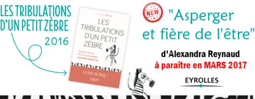 """""""Asperger & fière de l'être"""" d'Alexandra Reynaud"""